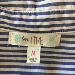 love, Fire Dresses - Love, fire striped dress